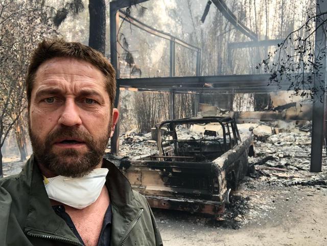 加州山火烧毁多座豪宅,明星里他最倒霉