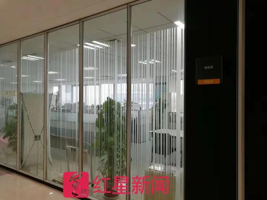 ▲西安高新区财政局办公区域 图片来源:红星新闻