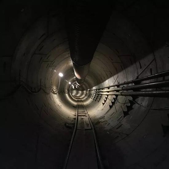 Boring Company 测试隧道