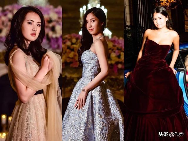 三位中国姑娘走进了巴黎世界顶级名媛舞会……