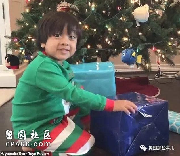 靠玩玩具年入上亿!2018最能赚的油管网红居然是个7岁小男孩!