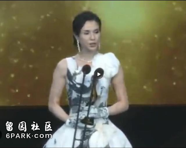 李若彤穿无袖裙,手臂肌肉吓到网友
