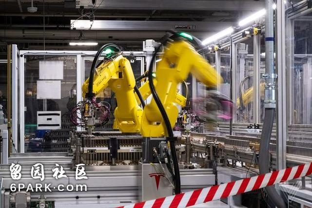 揭秘特斯拉超级电池工厂,这里是机器人的世界