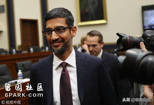 Google 走进国会山,舌战政坛群英是科技大佬们的 2018 必修课