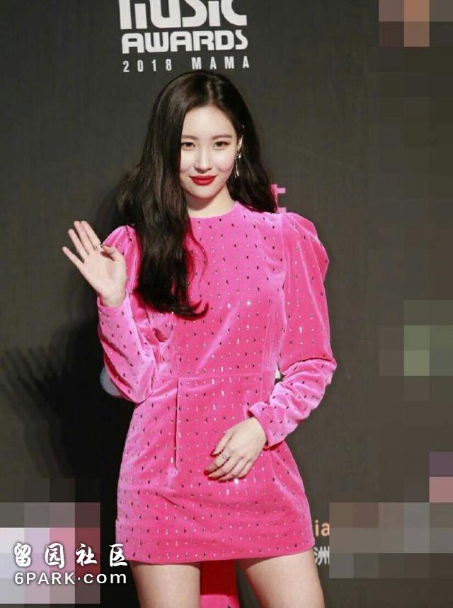 MAMA红毯中韩女星比美,Angelababy赢得轻轻松松!