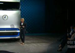 奔驰发布一款新型电动卡车,竟比特斯拉还能打(组图)